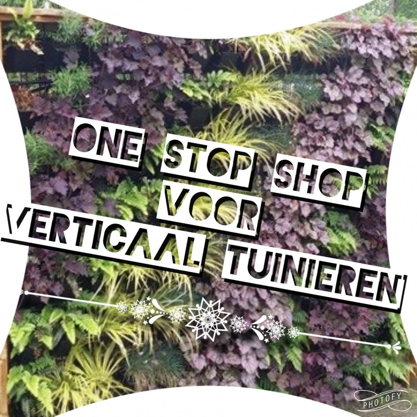 Verticale tuin one stop shop